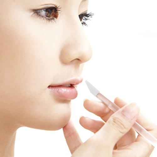 Frcolor 50 Pièces Pinceaux pour Lèvres Yeux Jetables Pinceaux Eponge de Maquillage Brosses Applicateurs