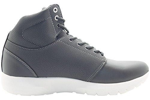 Crosshatch New Mens Shoes Designer Mid High Ankle Light Weight Sneakers Trainers December Sky