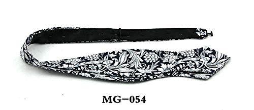 Design Silk Bow Tie (LLTYTE Krawatte Bowtie Paisley Flower Bowtie für Männer Silk Self Bow Ties Männer Self-Tied für Hochzeit Formal Business Casual Tie Party Tie)