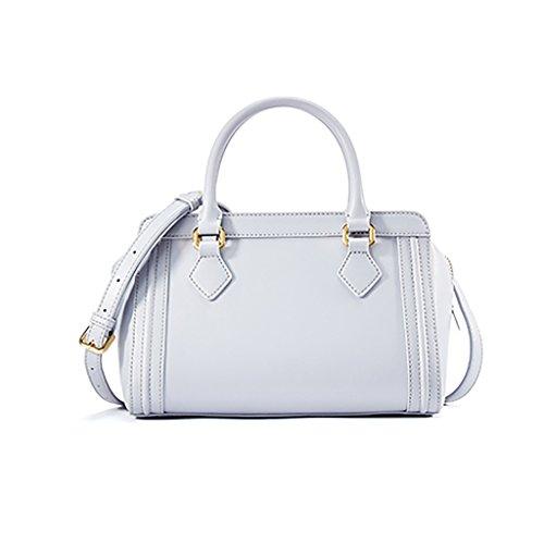 Vêtements pour femmes Napa Mode Cuir Mode Hommes épaule épaule Messenger Bag épaule Portable Multi-couleur Facultatif ( couleur : Blanc ) Blanc