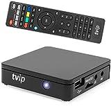 TVIP/HMP S-Box v.412 IPTV/OTT Media Player WLAN schwarz