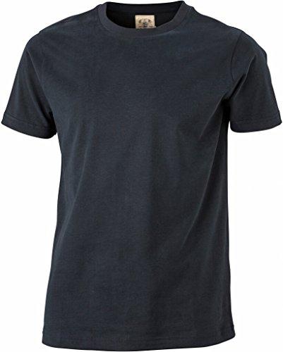 JAMES & NICHOLSON Figurbetontes, stylisches T-shirt im Vintage-Look Black