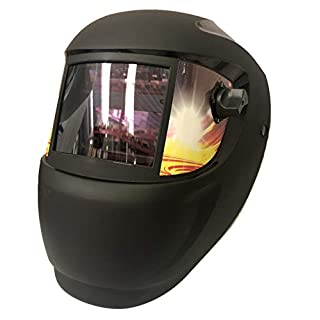 ArcOne Fire MIG Welding Mask - Liquid Crystal Self Darkening Helmet equipped with lithium battery with solar panel, ultra light, suitable for prolonged use