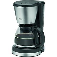 Clatronic KA 3562 - Cafetera de goteo, capacidad 12 a 14 tazas 1,5 l, 900 W, color negro