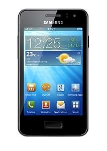 Samsung Wave M S7250 Smartphone (9,3 cm (3,65 Zoll) Display, Touchscreen, 5 Megapixel Kamera, Bada 2.0) metallic-silver