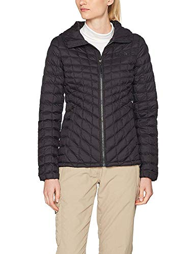 THE NORTH FACE Damen Thermoball Hoodie Daunenjacke, Black Matte, XS (North Face Hoodie-jacke Damen)