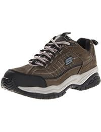 Skechers para el trabajo suave 76760 de zancada con punta de acero zapato de trabajo