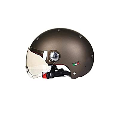 TZQ Cute Half Helmet Boy Girl Knight Summer Sunscreen Motorcycle Head Spring Autumn Helmet Helmet by xuexi