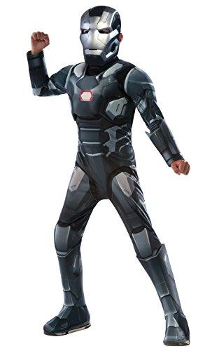 Deluxe War Machine - Captain America Civil War - Kinder Kostüm - Groß - 147cm - Alter (America Captain Kostüme Große)