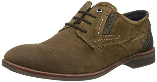 s.Oliver 13604, Oxfords Homme Marron (Tan 309)