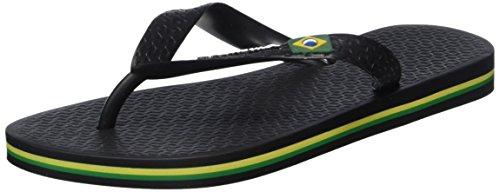 Ipanema Clas Brasil II Kids, Unisex-Kinder Zehentrenner, Schwarz (black 8041), 27/28 EU