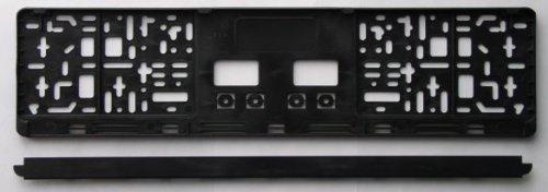 Preisvergleich Produktbild KFZ Kennzeichenhalter / Kennzeichenhalterung / Kennzeichenverstärker mit Click-Leiste