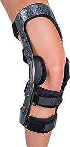665ba230d1 Donjoy Armor Acl Fourcepoint Protective Knee Brace - Hinge, Short Calf,  Left Leg -