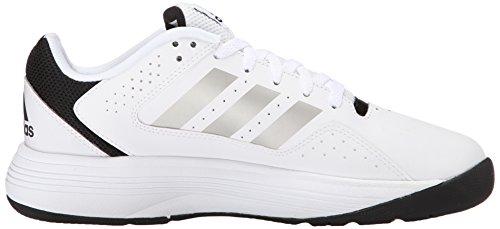 Adidas Performance Cloudfoam Ilation scarpa da basket, nero / bianco / bianco, 6,5 M Us White/Metallic Silver/Black