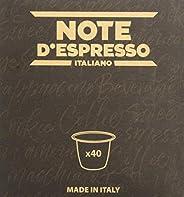 Note D'Espresso - Capsule - Compatibili con Sistema Nespresso* - Infuso ai Frutti di Bosco - 40
