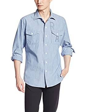 G-STAR RAW Herren Smoking Hemd Raw Utility Shirt L