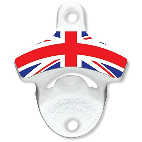 Kegconnection British Flag Bottle Opener by Kegconnection (British Open Flag)