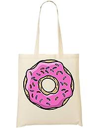 Sprinkled Doughnut Graphic Bolso De Mano Bolsa De La Compra