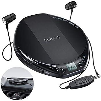Lenco CD-010 - Tragbarer CD-Player Walkman - Diskman - CD