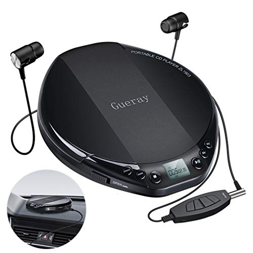 Gueray Tragbarer CD Player mit H...