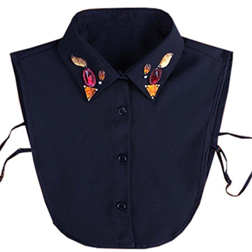Preisvergleich Produktbild Sweet Abnehmbare Kragen Charming Falsche Halsbänder Damen-Fake Half Shirt Zubehör für Sweater, # 03