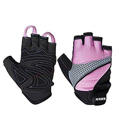 Hawk Ladies Pink – Weight Lifting Gloves