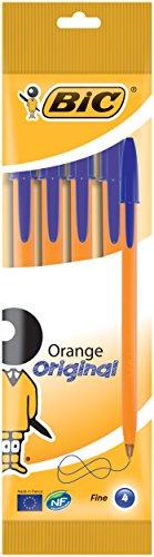 Dlugopis Orange Original Niebieski 4 sztuki
