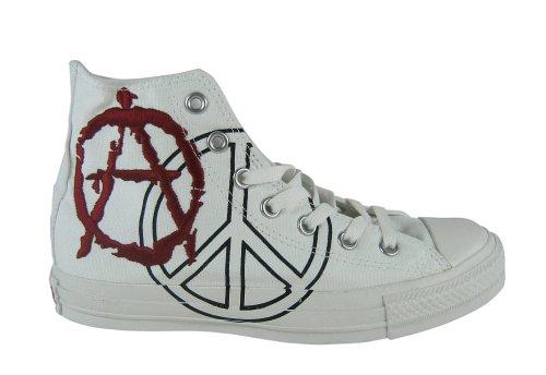 Converse All Star HI Spec Anarchy Chucks Schuhe weiss / rot 1Z420 Weiß