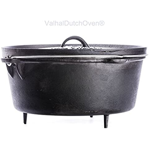 FORNO OLANDESE (DUTCH OVEN) IN GHISA - CAP. 13,5 LT