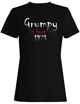 Grumpy nace en 1971 camiseta de las mujeres c228f