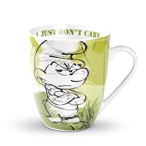 Egan Gobelet Schtroumpf miese Peter chlumpf Vert–Mug 350ml