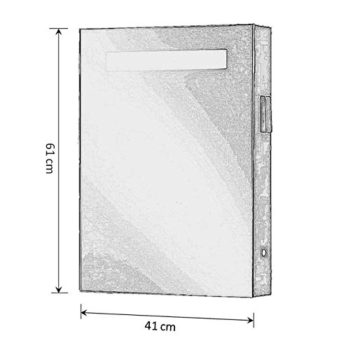 Beleuchteter Spiegelschrank mit Bewegungssensor – 40 cm - 4
