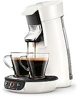 Philips Senseo Viva Café HD6563/00 Kaffeepadmaschine (Crema plus, Kaffee-Stärkeeinstellung) weiß