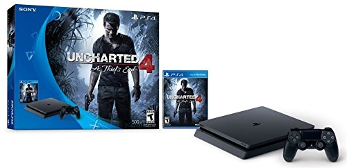 PlayStation 4 Slim 500GB Console - Uncharted 4 Bundle(US-Version, Importiertes)
