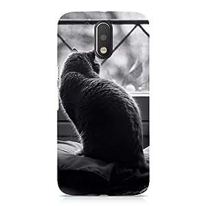 Hamee Designer Printed Hard Back Case Cover for Motorola Moto Z Design 2640
