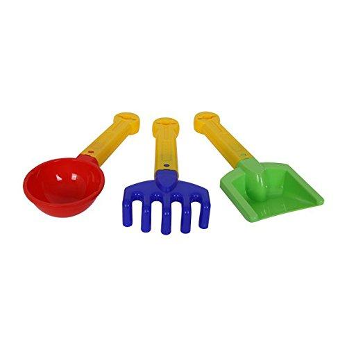 Legler 8775 - Sandspielzeug - Schaufel, 3-er Set, bicolor