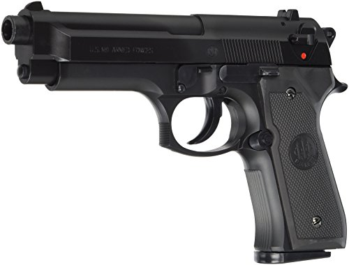 Beretta Softair M9 World Defender < 0.5 Joule Airsoft Pistole, Schwarz, One Size
