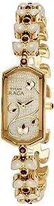 Titan Raga Analog Grey Dial Women's Watch - NC9748YM02J