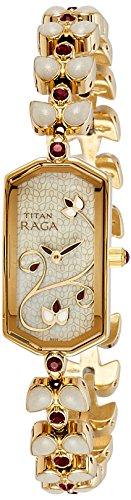 Titan Raga Analog Grey Dial Women's Watch - NC9748YM02J image
