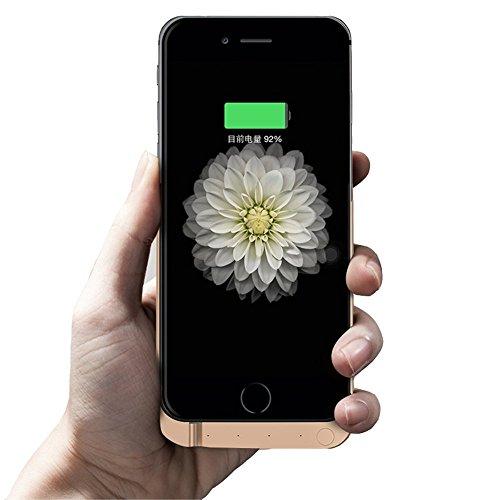 Batteria per iPhone 6s, custodia iPhone 6/7della batteria, Zdtech 7000/3000mAh batteria di backup esterna protettiva custodia di ricarica Power Bank con porta USB e supporto per iPhone 6/6S 11,9cm & # xFF08; perfetto per Pokemon Go & # XFF09;