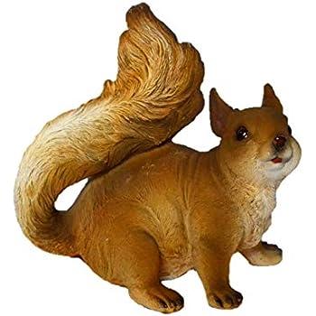 sehr niedlich Gartenfigur Eichhörnchen zum Hängen und Stellen 937128