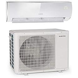 KLARSTEIN Windwaker Eco - Climatiseur Split, 18 000 BTU/h (5274W), 800m³/h, Chauffage et Refroidisseur, A++/A+, 5 Modes, 3 Modes Veille, écran LED, Télécommande, Blanc