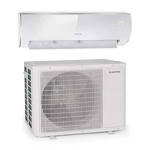 Klarstein Windwaker Eco Split-Klimaanlage - 18.000 BTU/h (5274 Watt), Luftstrom: 800 m³/h, Heiz- und Kühlgerät, selbstreinigend, Energieeffizienzklassen: A++/A+, 5 Betriebsmodi, 3 Schlafmodi