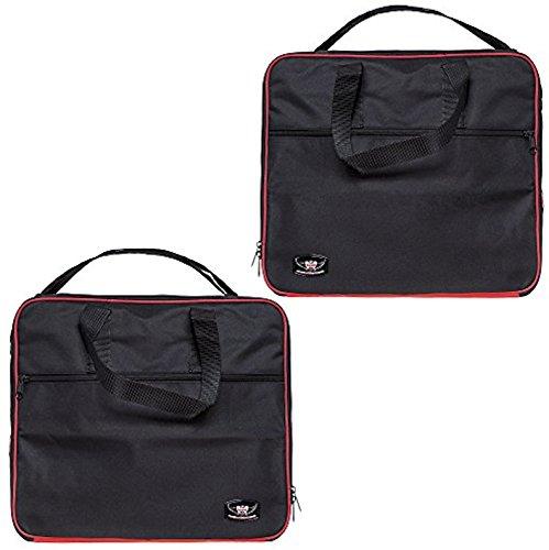 1 Paar Innentaschen für BMW R1200GS Adventure Aluminium Packtaschen von 2015-2019 rot / schwarz Farbe tolle Qualität
