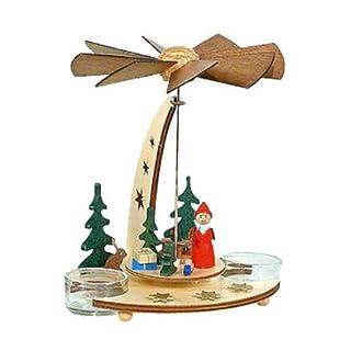 Alexander Taron Importer Dregeno Pyramid-Santa with Toys in Forest-7