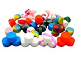 Gentcy Wholesale Non Stick Silicone Oil Kitchen Container Dab Wax Concentrate Jar 10pcs New by Gentcy