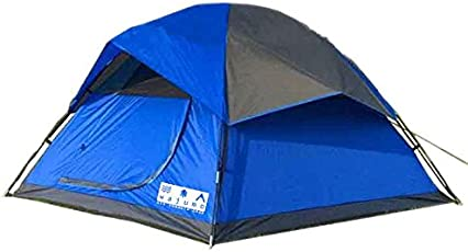 WAJUMO-ATG StarDome 6 Tent Blue | 6 Person Waterproof Tent | Camping Dome Tents