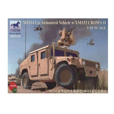 Unbekannt Bronco Models cb35136 - Modélisme Armoured Jeu de M1114 Up Vehicle xm153 crowsii