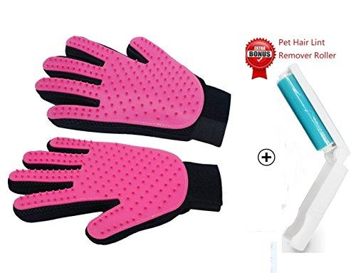 Pet Bürste Handschuh Aufgerüstete Version Tierhaar Handschuh Fingerhandschuhe Bürste Haarentferner -