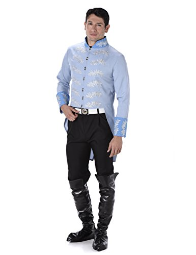 Prince Charming Mens Fancy Dress Fairytale Story Book Day Week Adult (Charming Erwachsene Prince Kostüme)